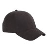 BX002A - 6-Panel Brushed Twill Structured Cap